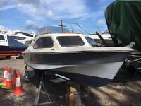 Fishing/leisure boat Shetland 535 mariner 40hp
