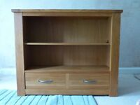 NEXT SOLID OAK BOOKCASE