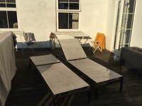 Ikea Sunbed garden lounger x2