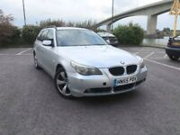 BMW 520D SE Touring Estate 2005 Long mot Full service history 5 series
