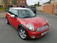 2008 MINI ONE 1.4 6 SPEED MANUAL RED NEW SHAPE LONG MOT F.S.H HPI CLEAR BARGAIN