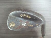 CALLAWAY X TOUR WEDGE 58 / 11 VEEERY RUSTY!
