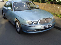 Rover 75 Blue Recent New Mot