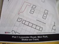 4 PARCELS OF LAND IN STOKE ON TRENT bargain price