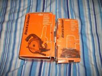 black and decker drill attachments circular saw and sander both boxed