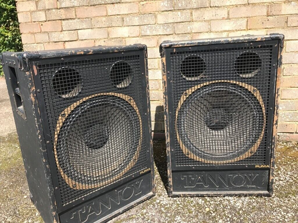 x 2 Vintage Tannoy Puma Dual Concetric 15 inch Speakers | in West London, London | Gumtree