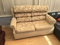 Double sofabed - ideal if space is limited