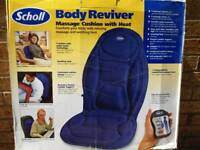 Scholl massage cushion with heat