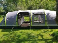 HI Gear Airgo Nimbus 8 berth luxury inflatable tent. Immaculate condition as used once