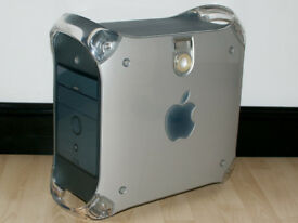 Apple Power Mac G4 - 466MHz, 512MB RAM, 80GB HD, DVD, Mac OS X 10.4 Tiger, iLife 08, Vintage PC
