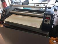 D&K Minkote laminator S/S25 A1 paper large laminator temp and speed control (printer- laminator)