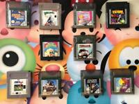 Nintendo Gameboy // Gameboy Colour Games
