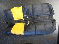 SMALL CHIHUAHUA COAT AND JUMPER LOT AS NEW CONDITION