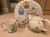 Tea for Two!! Delightful new tea pot & accessories