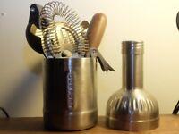 Bar tools set £15 ovno