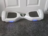 HOVER BOARD NEEDS REPAIR BUT ALL LIGHTS UP £35