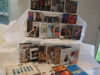 cassettes- collection of 34 various artists