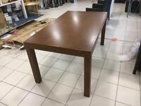 Large Mahogany dining Table for sale ex Display mint condition
