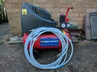 25 litre compressor nupower