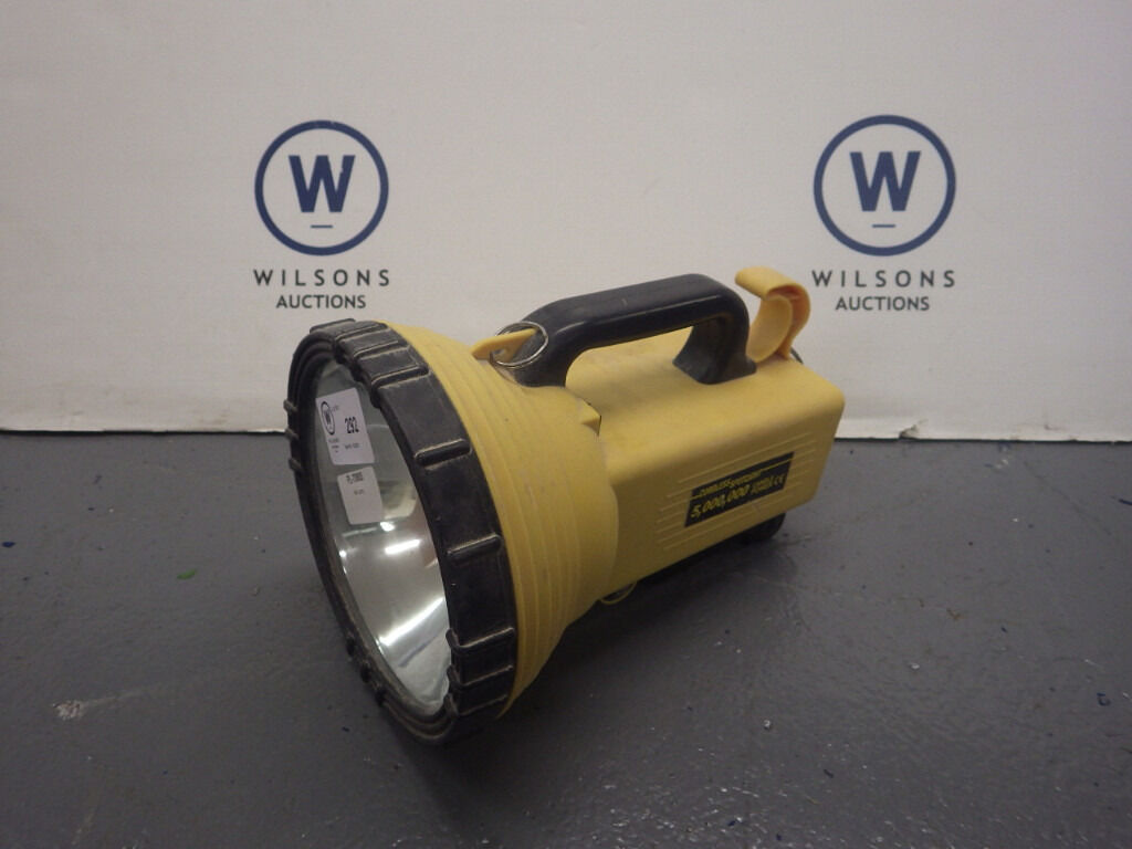 Battery Operated Hand Held Spotlight
