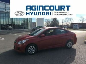 2015 Hyundai Accent GL/HEATED SEATS/BLUETOOTH/ONLY 51988KMS!!!