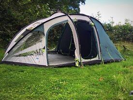 6 man , 2 bedroom tent