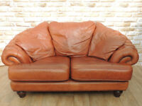 Tan Chesterfield Sofa (Delivery)