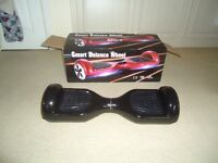 Unused Black hoverboard still in box, excellent condition.
