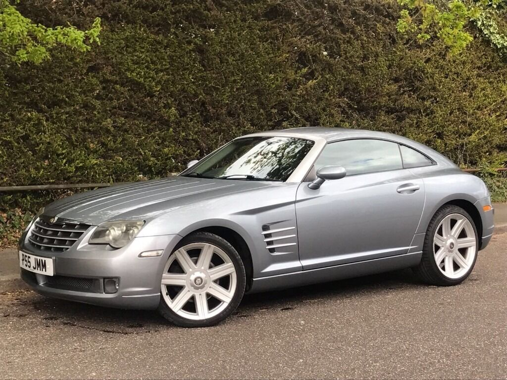 2004 chrysler crossfire automatic 3 2 v6 engine coupe brand new mot sat nav in poole. Black Bedroom Furniture Sets. Home Design Ideas