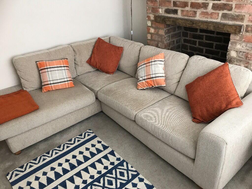 John Lewis Living Room Furniture John Lewis Felix Mocha Corner Sofa Excellent Condition Rrp