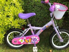 "Girls 14"" Apollo Petal bike"