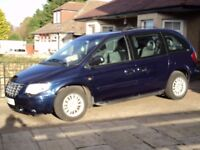 2006 Chrysler Voyager Diesel, 2.8 CRD, 1 Lady Owner since new.