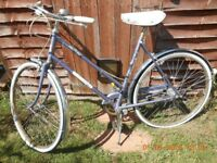 Pretty lilac/blue,Vintage Elswick Hopper bicycle for sale