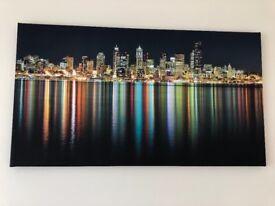 Large Canvas of City skyline