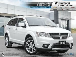 2016 Dodge Journey LIMITED**DVD**7 PASS**SUNROOF**BCK UP CAM