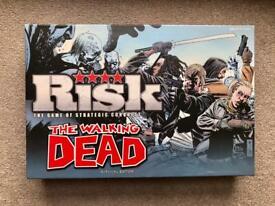 Rare Board Game for Sale - Risk The Walking Dead Survival Edition