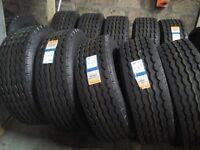 385/65/22.5 super singles trailer truck tyres £155 each
