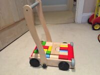 Plan Toys Wooden Baby Walker