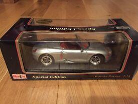 Maisto Porsche Boxster 1:18 Special Edition in Silver