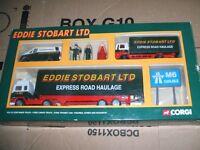 for sale corgi eddie stobart ltd set