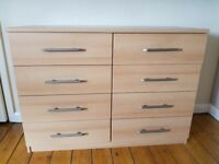 8 CHEST OF DRAWERS