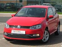 Volkswagen Polo MATCH EDITION (red) 2017-03-31