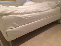 Ikea Espevar bed with Hyllestad mattress (200cm x 180cm), only used for 3 months