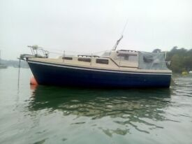 Colvic Family Fisher motor boat - Currently in Falmouth, Cornwall