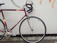 1985 Peugeot road bike. Reynolds 501. 60cm frame. Refurbished.