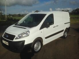 2007 Fiat Scudo van with 3 front seats and mot until August 2017