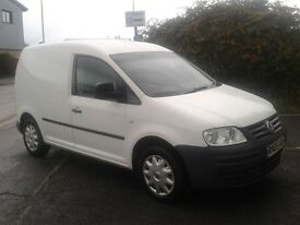 Vw caddy van 2.0 sdi reduced for a quick sale