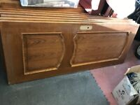 25 used interior wooden doors - buyers collects