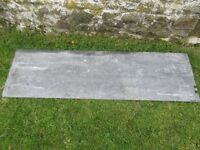2 Pieces Old Welsh Slate: Suitable for use as worktops in Kitchen &/ Bathroom.