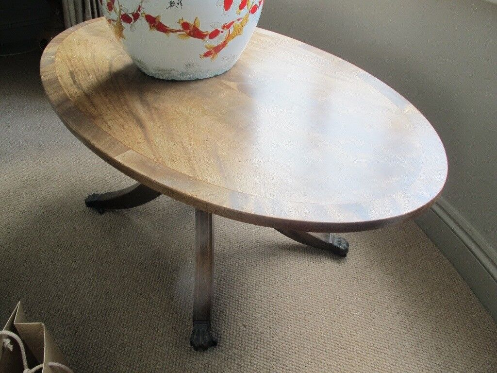 antique wooded Coffee table